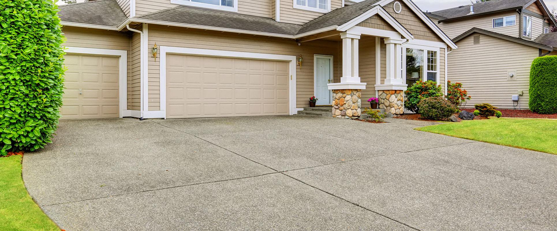 Concrete Slab Jacking at Residential Properties & Driveways
